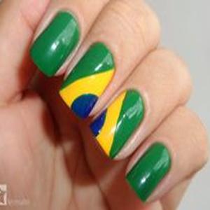 Unhas decoradas Brasil