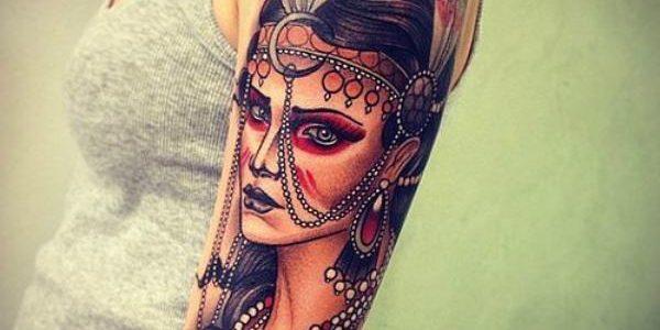 Tatuagem feminina no braço 2020