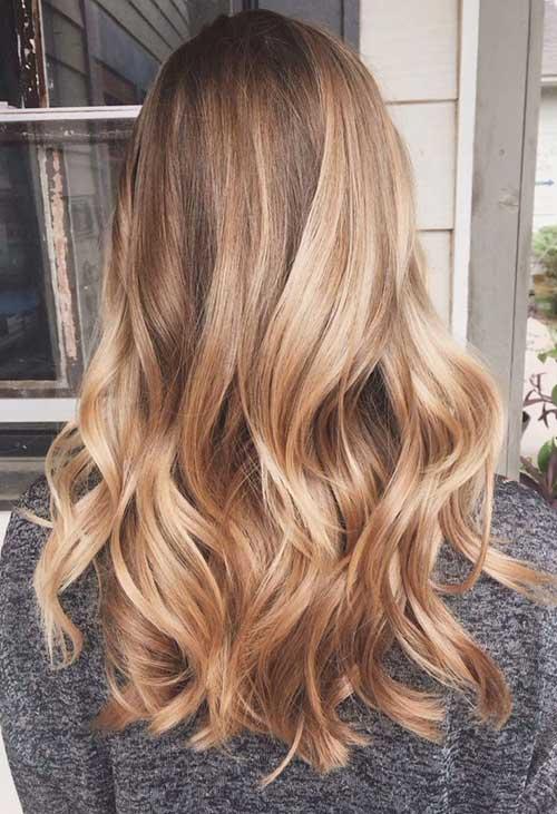 Cores de cabelos 2020 - Loiro e Mel
