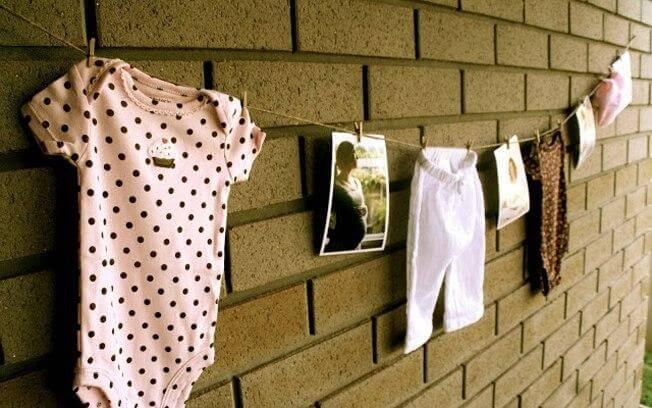Ideia de decoração chá de bebê