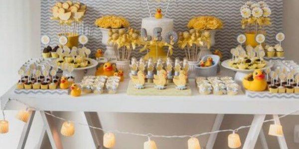 ideias de comidas para chá de bebê 2020