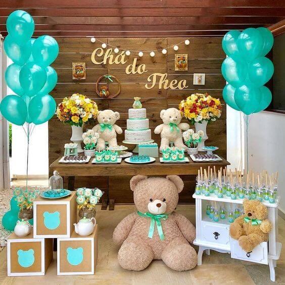 Tendência decoração chá de bebe 2020