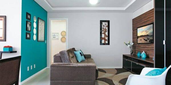 tendência de decoração de apartamento
