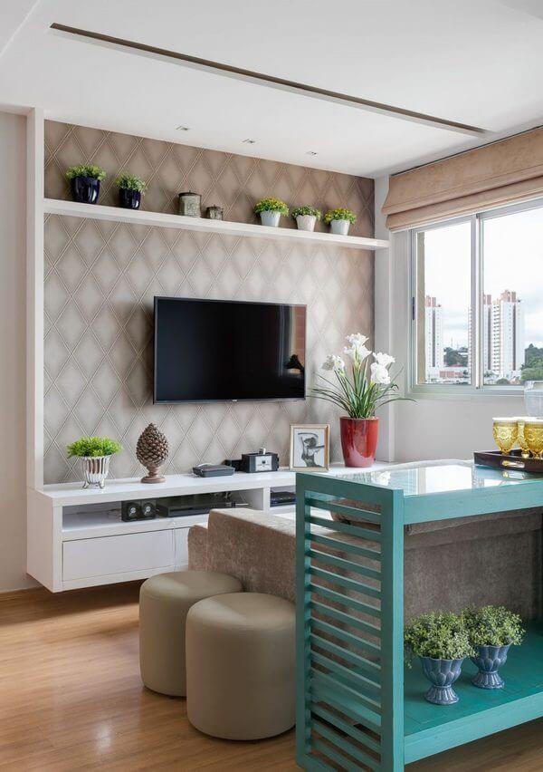 ideias de decoração de sala de apartamento