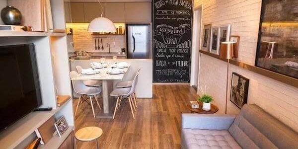 Decoração de sala de apartamento 2020