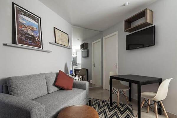 ideia de decoração de apartamento