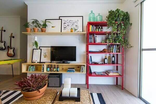 Decoração de sala simples 2020