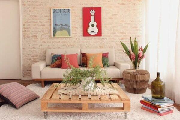 ideias de decoração de sala simples
