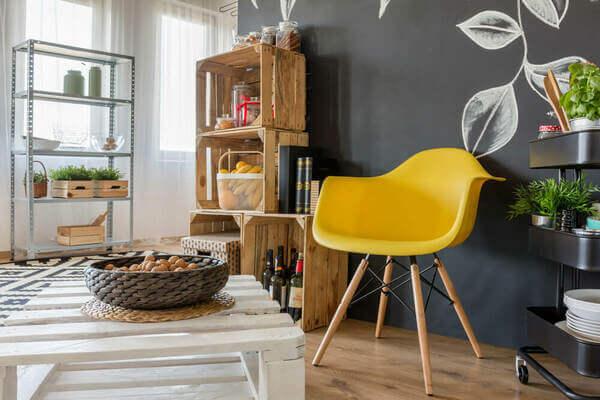 ideias de decoração de sala barata
