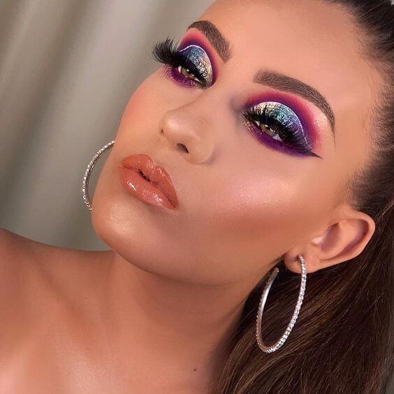 maquiagem para baile de formatura 2020