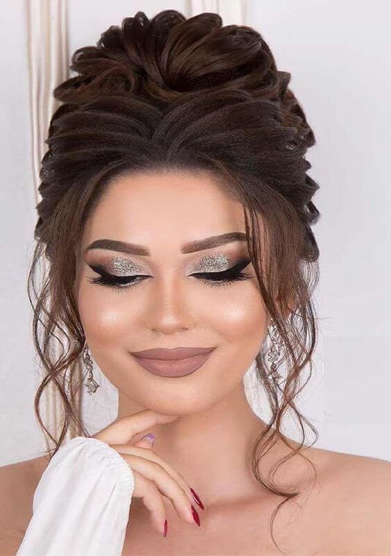 Maquiagem da formatura da moda
