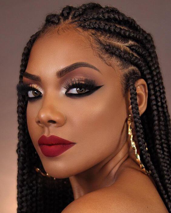 maquiagem de formatura 2020 para pele negra