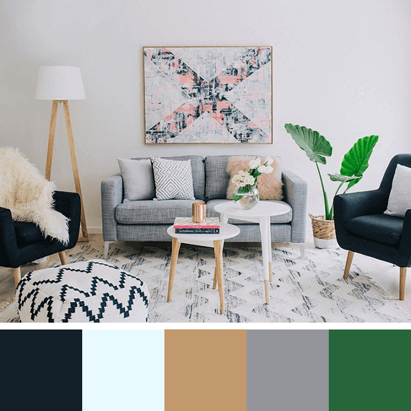 Ideias de cores salas 2020