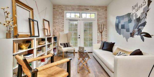 Decoração sala pequena minimalista 2020