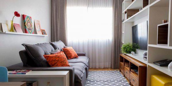 Decoração sala pequena moderna 2020
