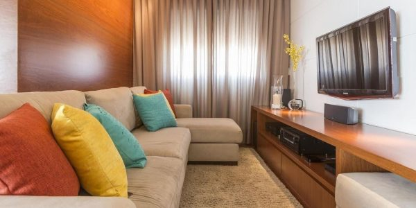 Ideia para sala pequena simples
