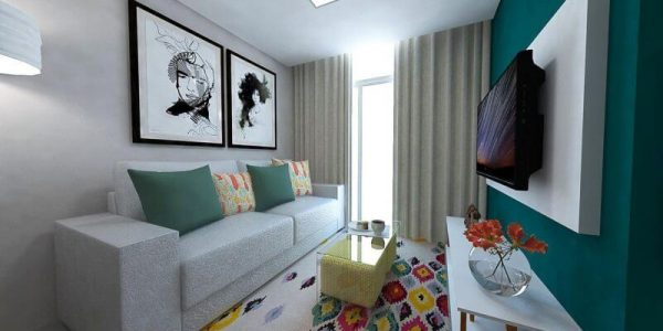 Sala pequena simples 2020