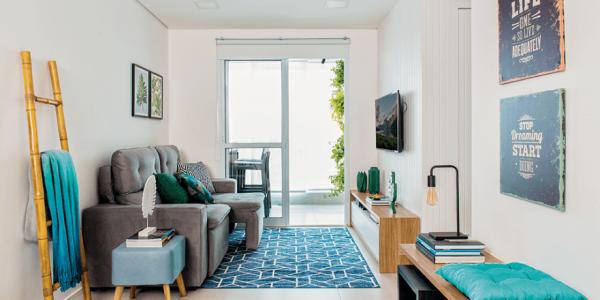 Decoração sala pequena simples