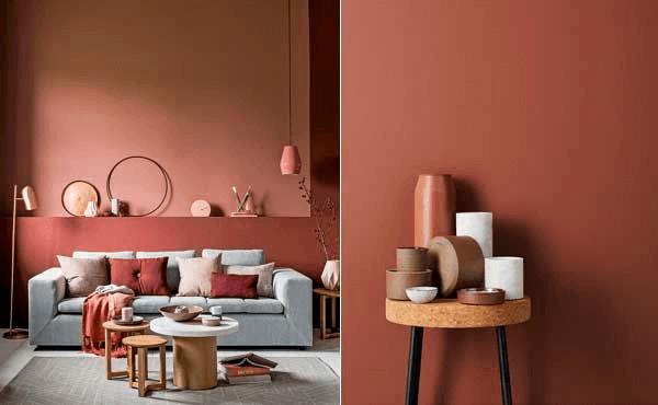 Tendência de cor salas em 2020