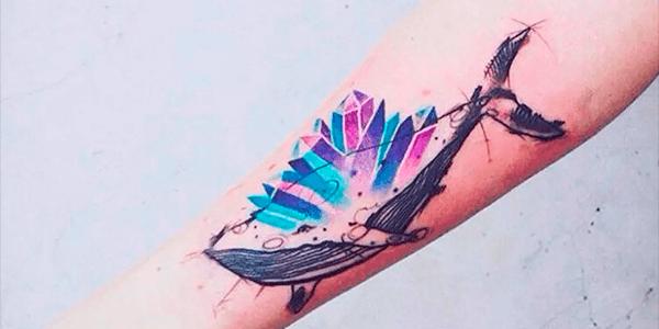 ideia tatuagem delicada feminina