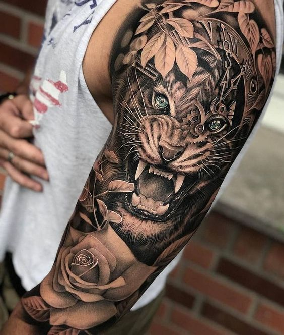 Tatuagem Feminina Realista