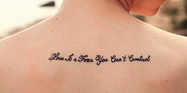 tatuagem frase feminina