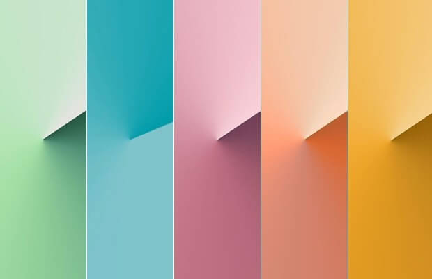 Paleta de cores decoração 2020