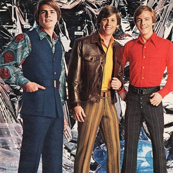 moda masculina nos anos 1960