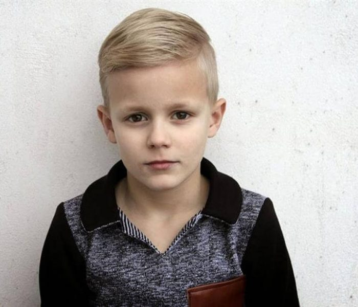 corte de cabelo liso infantil masculino