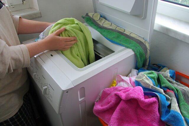 Lave a roupa normalmente