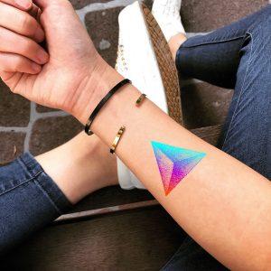 Tatuagem no Pulso - Pontilhismo 2020