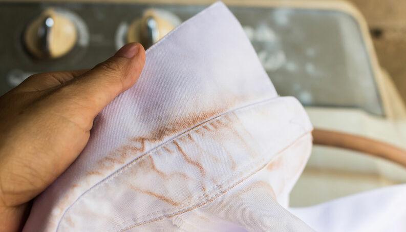 Tipo de mancha de roupa