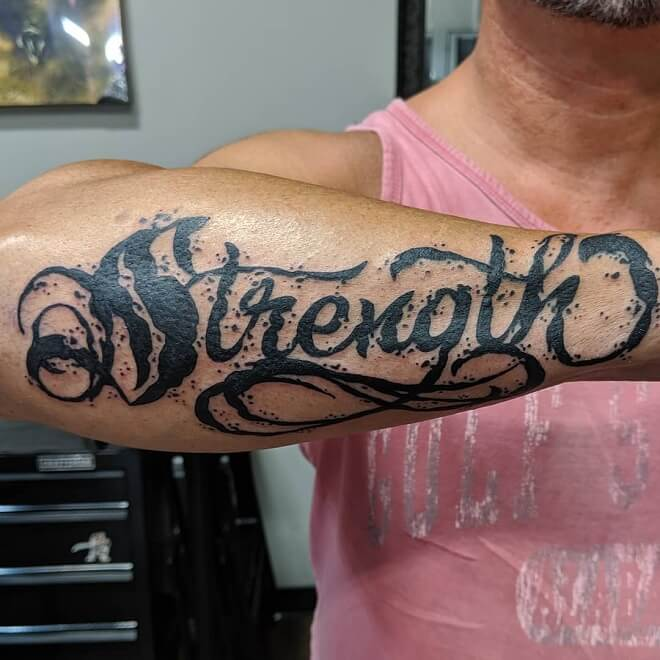 Lettering-Forearm-Tattoo