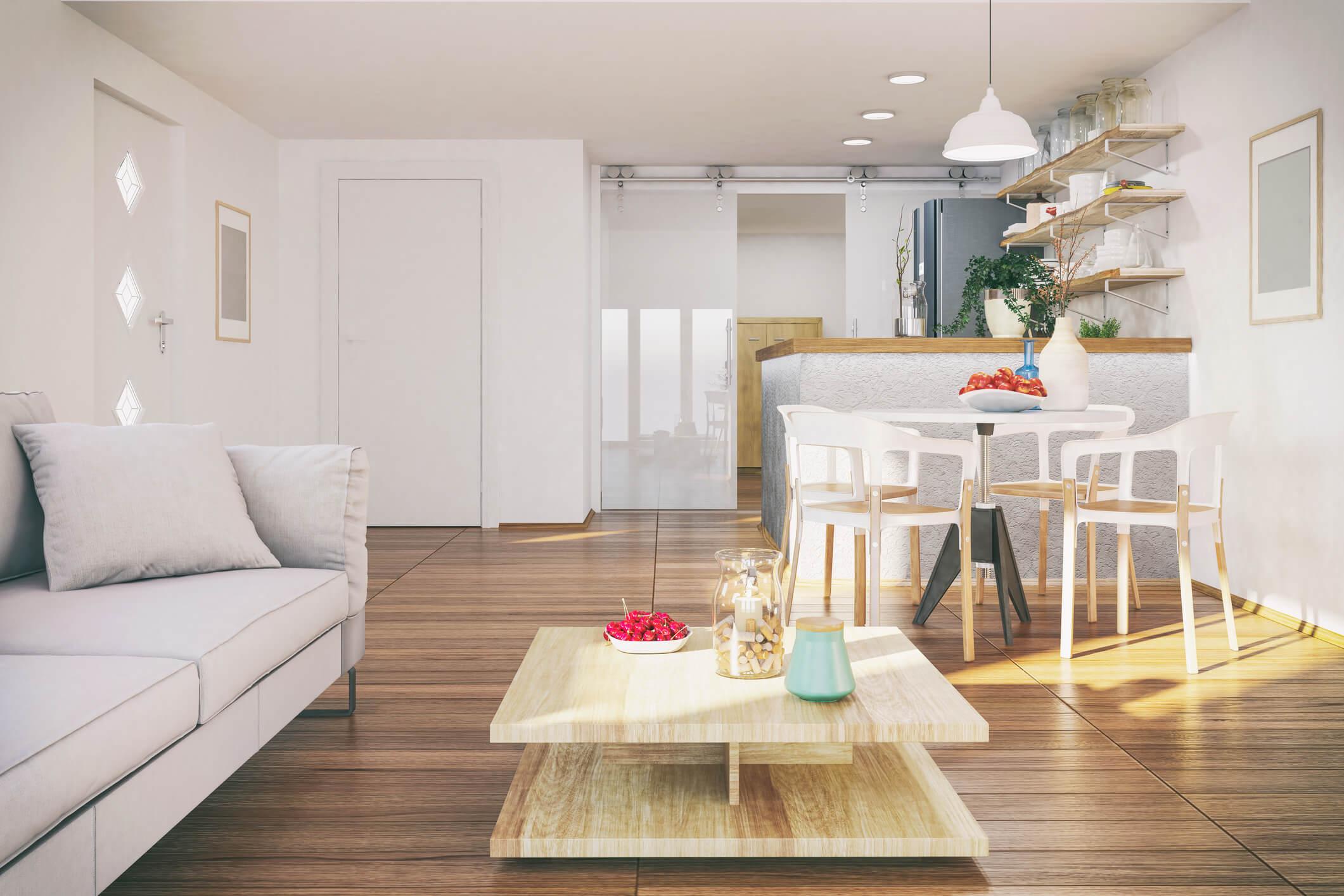apartamento pequeno integrado
