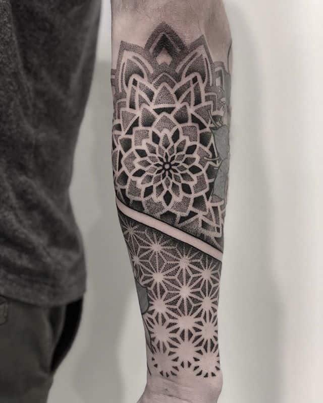 chronic-ink-sebastian-geometric-tattoo-sleeve-dot-work-mandala