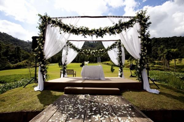gazebo de casamento