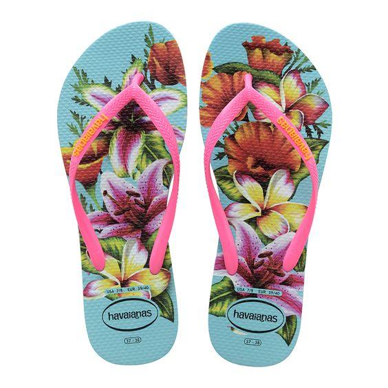 havaianas floral 2020