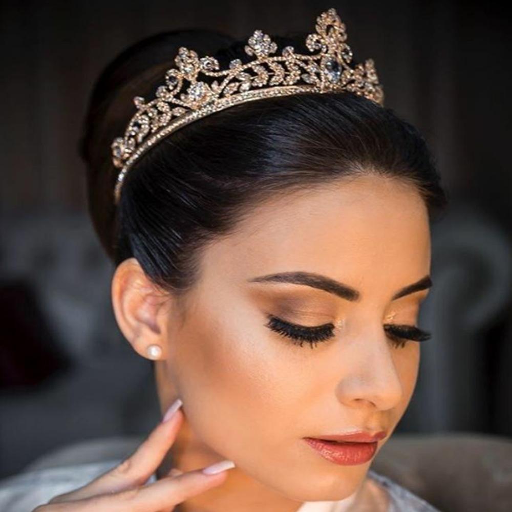 maquiagem para noiva com cilios postiços