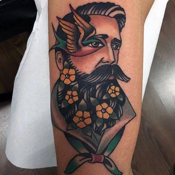 old school estilo tattoo