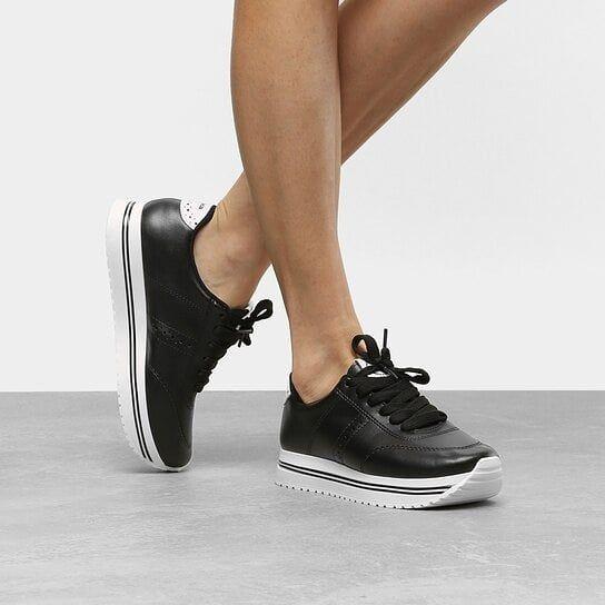 tênis flatform feminino