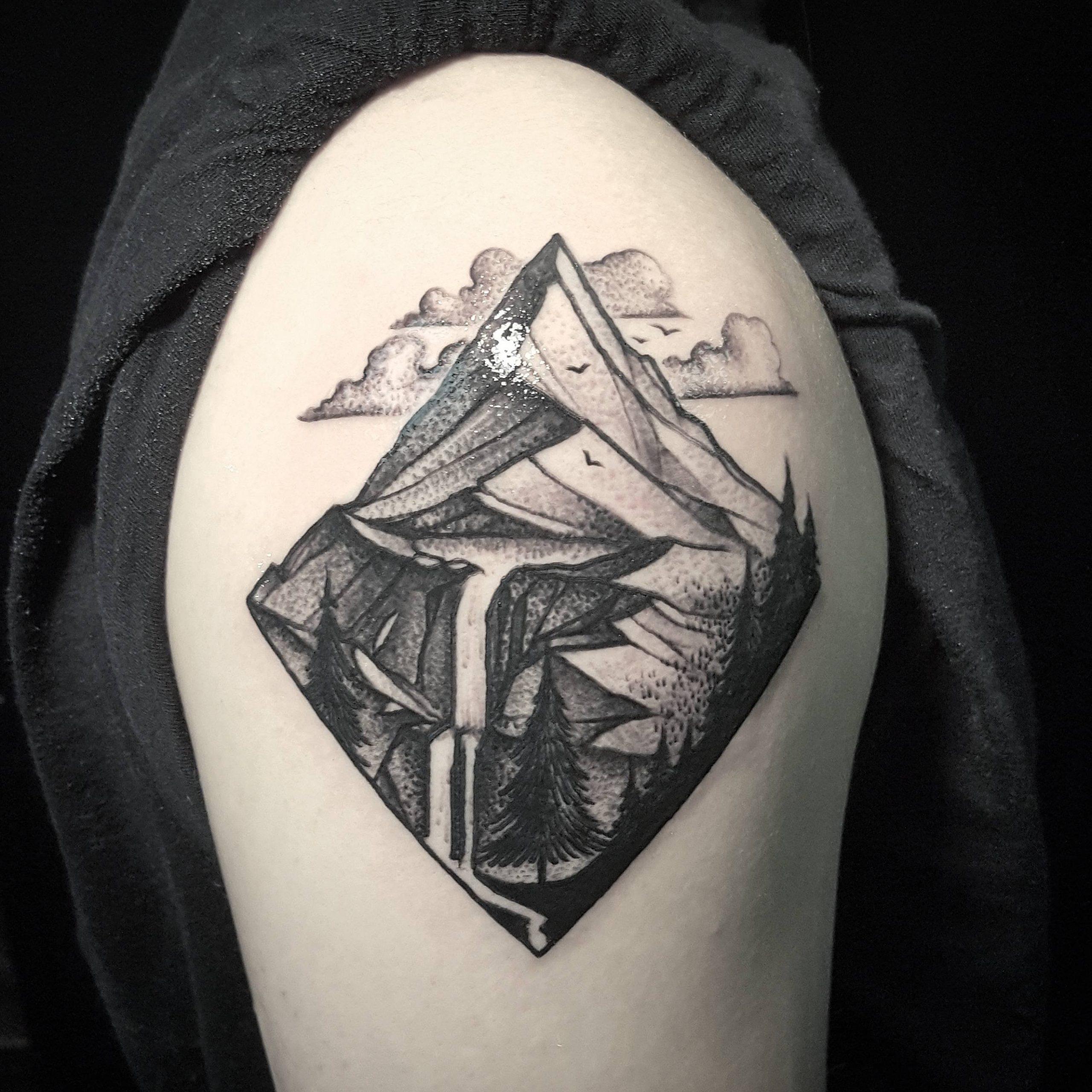 tatuagem blackwork
