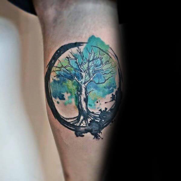 tree-of-life-watercolor-tattoo-tree-of-life-tattoo-men