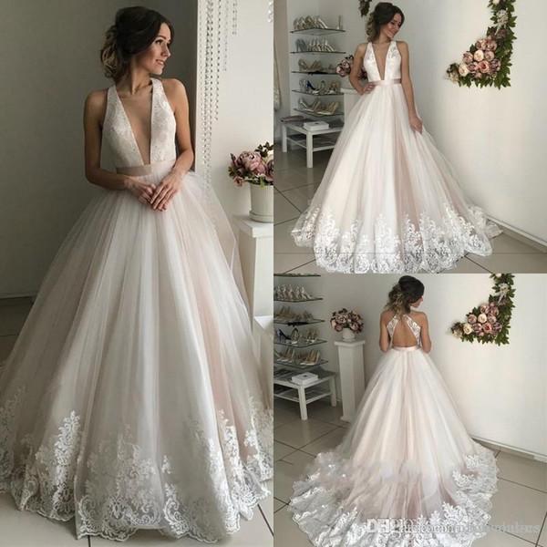 vestido de noiva com decote