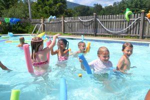 festa infantil na piscina 2020