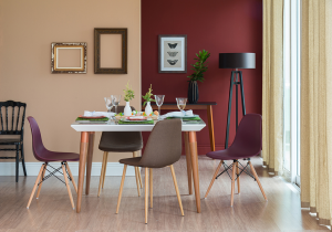 sala de jantar coloridas 2
