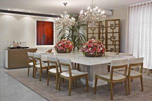 sala de jantar com plantas 3