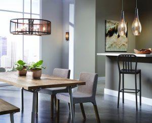sala de jantar iluminação 2