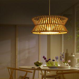 sala de jantar iluminação