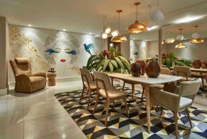 sala de jantar padrões