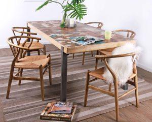 sala de jantar sustentável